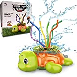 BIANHUA Turtle Sprinkler for Kids,Toddler Outdoor Water Play Sprinklers,Summer Activities-Outside Garden Lawn Water Toy (Suit for 3, 4, 5Years Old Kids).