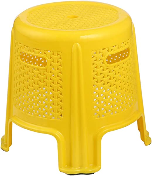 Simple And Modern Plastic Stool Changing His Shoes Stool Fashion Creative Thickened Adult Household Stool