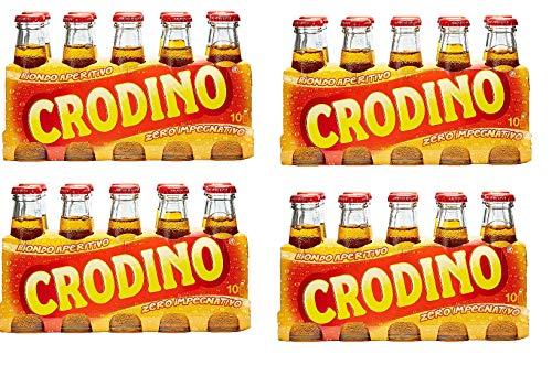 40x San pellegrino Crodino 100 ml Aperitif ohne Alkohol bitter aus italien