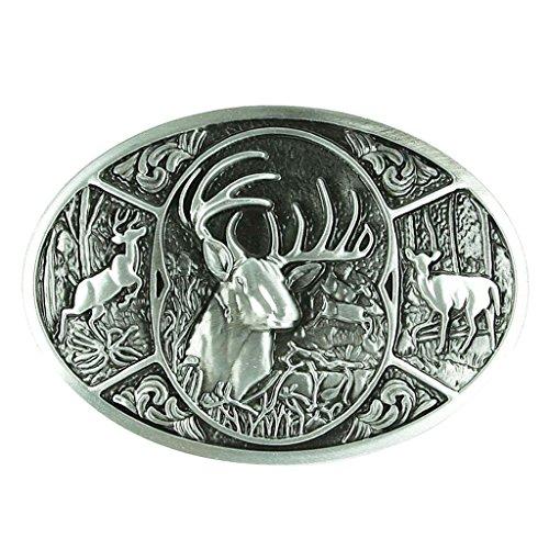 Sharplace Boucle de Ceinture Buckle Belt Style American Western Cowboy Accessoires Embellissement de Vêtement Cadeau Idéal pour Homme Femme