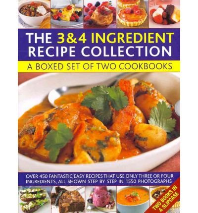 [(Cooking with Just 3 & 4 Ingredients: a Box Set of Two Cookbooks : Over 450 Fantastic Easy Recipes That Use Only Three or Four Ingredients, All Shown Step by Step in 1550 Photographs)] [ By (author) Jenny White, By (author) Joanna Farrow ] [November, 2011]