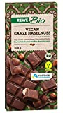 REWE Bio Vegan Ganze Haselnuss (chocolate vegano sin lactosa con avellanas) 100g
