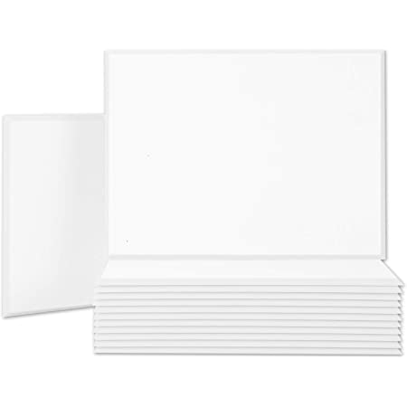 """BUBOS Acoustic Panels,16""""x12""""inch Premium Acoustical wall panel,Better than foam, Decorative Sound Absorbing Panel for walls, Studio Acoustic Treatment. Soundproof wall panel,6Pcs,White"""