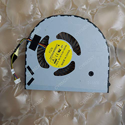 CYRMZAY Ordenador portátil/Notebook Ventilador para DELL Alien M17X 17 R2 R3 P43F 2015 DFS200805000T-FG79
