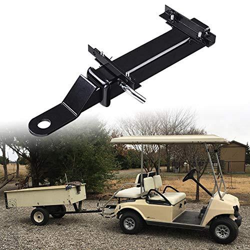 StarONE Golf Cart Rear Seat Trailer Hitch with Receiver Fit for FootrestClub Car EZGO Yamaha
