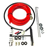 UPP- PROSTREET BATTERY RELOCATION KIT For Automotive/Marine With 20 ft of 2-Gauge Red and 3 ft of 2-Gauge Black Battery Cable/Includes Installation Kit