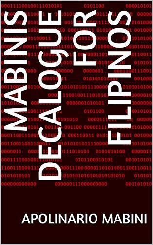 Mabinis Decalogue for Filipinos (English Edition)