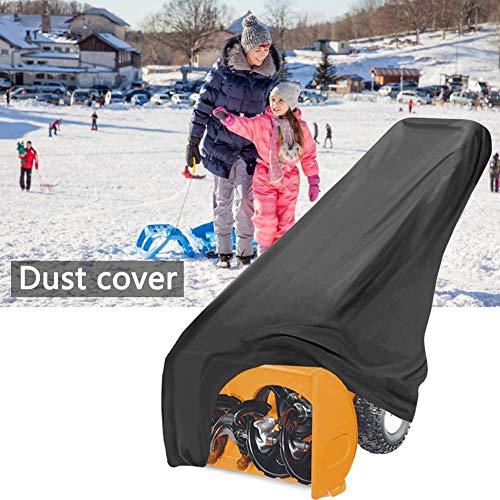 Wintesty Schneewerfer-Abdeckung, zweistufig, staubdicht, Winddicht, für die meisten elektrischen Schneefräsen mit Schlössern, Schnallen und Tragetasche Manner