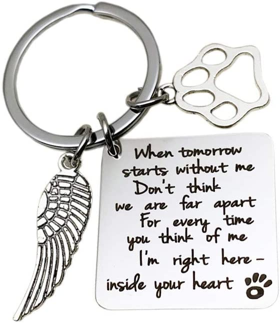 Pet Loss Sympathy Memorial Gift When Tomorrow Starts Me New product type Selling Without