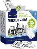 Descalcificador Cafetera Pastillas de descalcificación - 15x 16g Tabletas para máquina de café,...