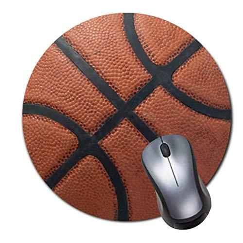 Gaming Mauspad rutschfest Gummi Mauspad Rund Mauspad für Computer Laptop Mousepad Basketball