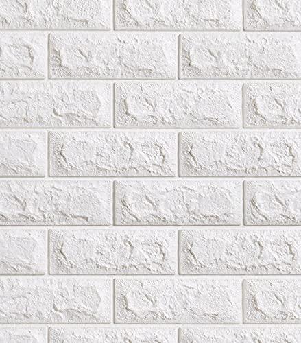 'N/A' Adhesivo De Pared Panel De Mampostería 3D, Papel Tapiz Artístico Autoadhesivo De Bricolaje, Adecuado para Sala De Estar, Dormitorio, Bar, Muebles De TV, Oficina 70x77 Cm(Size:30PCS)