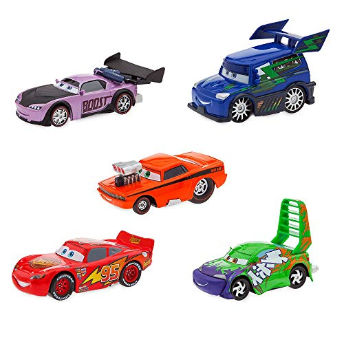 DieCast Delinquent Road Hazards and Lightning McQueen Pull 'N' Race Set Cars Arizona