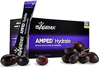 Amped Hydrate Sticks Grape - 24ct