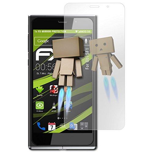 atFolix Displayfolie kompatibel mit Obi SF1 Spiegelfolie, Spiegeleffekt FX Schutzfolie