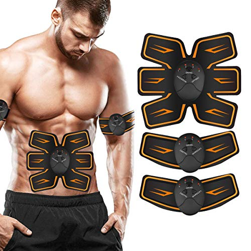 Ben Belle Abs Stimulator,Muscle Toner,Ab Muscle Stimulator Belt,Abdominal Toner Training Device for Muscles,Wireless Ab Machine Workout Equipment Portable for Men & Women