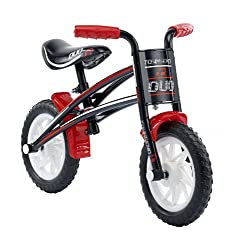 10 inch colour co-ordinated mag wheels with puncture proof tyres. Quick change Reversible frame creates 2 different sized balance bikes so that it can grow with the child by increasing the height and reach. Large padded saddle for ultimate comfort wh...