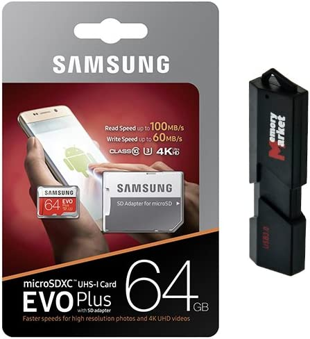 Samsung 64GB MicroSD XC Class 10 for Card Mobile Ranking TOP18 UHS-3 Hu Memory SALENEW very popular