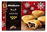 Holiday Mini Mincemeat Tarts - 1 Box, 6 Pieces Luxury Mincemeat Inside, 13.1 Ounce   Buttery Pie Pastry   Perfect Pie for Holidays, Birthdays   by Walkers