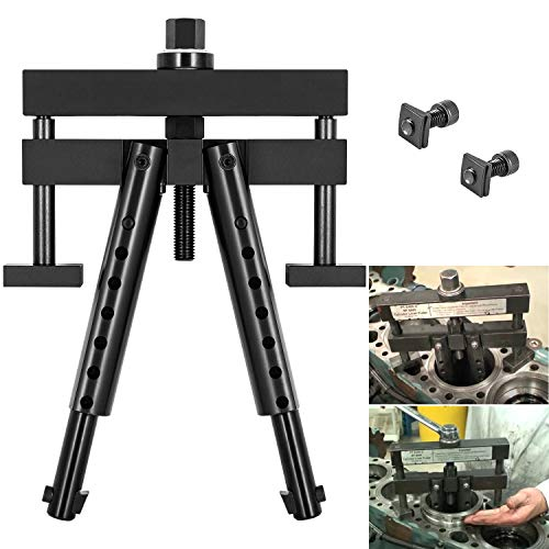 Universal Cylinder Liner Puller Assembly for Mack Cummins Caterpillar CAT on Wet Liners 3-7/8' to 6-1/4' bore Alternative to PT-6400-C M50010-B 3376015 Heavy Duty Diesel Engine Cylinder Liner Puller
