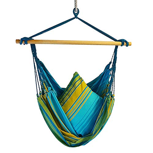 BE-FREE IMPORTS Hammock Swing Chair for Adults and Children, Hanging Chairs for Bedrooms Indoor, or...