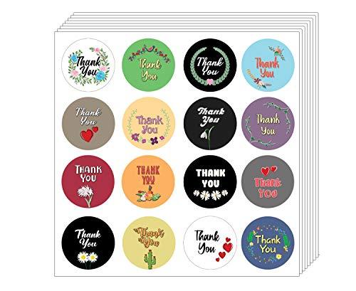 Creanoso dankt u Stickers (10 vel) - diverse ontwerpen voor Kinderen - Classroom Beloning Incentives for Students - kleinigheidjes Party Favors & Giveaways
