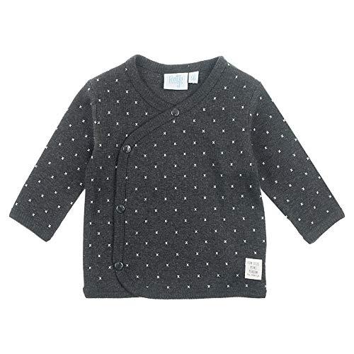 Feetje T-Shirt à Manches Longues pour garçon avec imprimé Alloverprint - Gris - 6 Mois