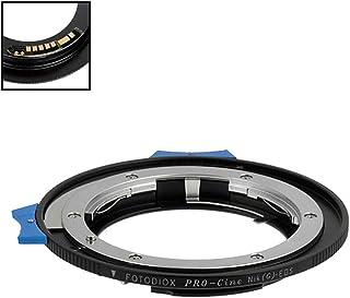 Fotodiox Pro Lens Mount Adapter Compatible with Nikon Nikkor F Mount G-Type D/SLR Lens to Canon EOS (EF/EF-S) Mount DSLR C...