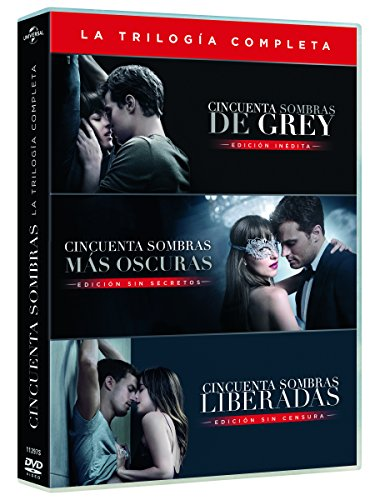 Cincuenta Sombras De Grey - Películas 1-3 [DVD]