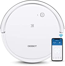 ECOVACS DEEBOT 501 Smart Robotic Vacuum Cleaner Max Model for All Floor Types with Wi-Fi Connectivity, Selective Cleaning ...