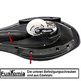 Waveboard Original FunTomia mit Mach1 Lager inkl. Tasche und CD (Es stehen verschiedene Farbdesigns zur auswahl) (Grün / Blume Design – mit LED Rollen) - 2