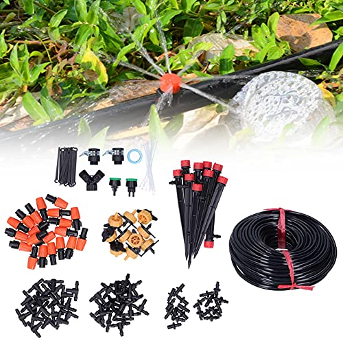 Kit de Goteo de jardín, Kit de riego automático de Manguera de Ahorro de Agua de 40M 4/7 para atomización para jardín para riego de Vegetales para riego de césped