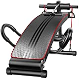 Fitness-Bank, Unisex Adult Sit Up Utility-Bank Adjustable Faltbare Workout, Heavy Duty Bench...