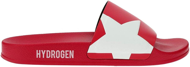 HYDROGEN Men's 225910002 Red Rubber Sandals