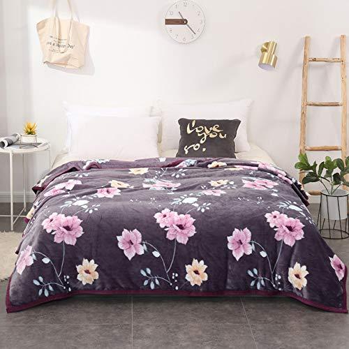 RONGXIE New Plaid Decken Quilts Twin Voll Königin König Erwachsene Decken Soft Throw Flanell Decken Auf Bett/Auto/Sofa Blau Kinder Teppiche Decken Home Camping Bettwäsche
