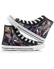 Vrijetijdsschoenen Heren Canvas Casual Schoenen Sneakers Outdoor Damesschoenen Herenschoenen Unisex 3D Anime Wandel Schoenen Shoes Naruto