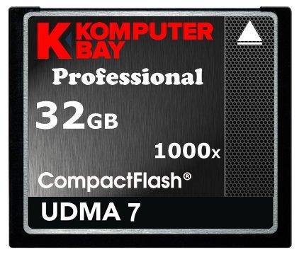 Komputerbay Profesional - Tarjeta Compact Flash 32GB