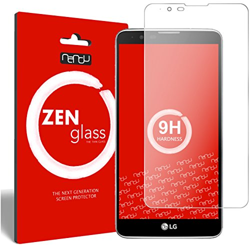 ZenGlass Flexible Glas-Folie kompatibel mit LG Stylus 2 Panzerfolie I Bildschirm-Schutzfolie 9H