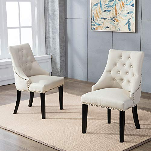 Dagonhil Fabric Dining Accent Chairs