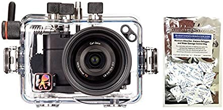 Ikelite 6116.11 Underwater Camera Housing compatible with Sony Cybershot Rx100 II w/ Moisture Munchers