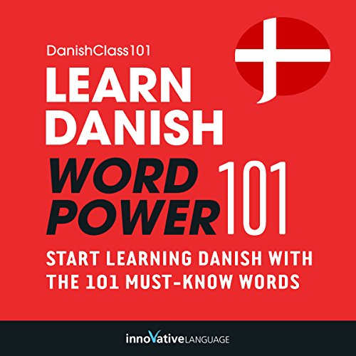 Learn Danish - Word Power 101 audiobook cover art