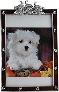 WNGGADH Cadre photo vertical pour animal domestique Marron