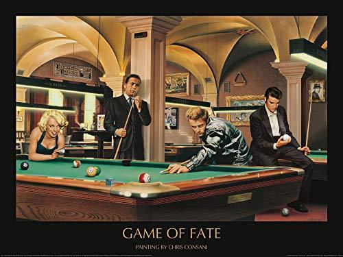 1art1 Chris Consani - Spiel des Schicksals Poster Kunstdruck 80 x 60 cm
