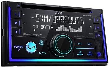 JVC KWR930BT Car Stereo – Double Din, Bluetooth, CD,MP3/USB AM/FM Radio, Multi..