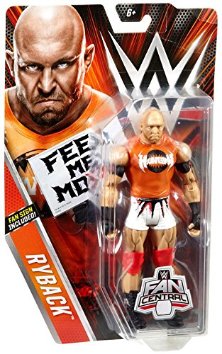 WWE Basic Series Fan Central Ryback Exclusive Action Figure