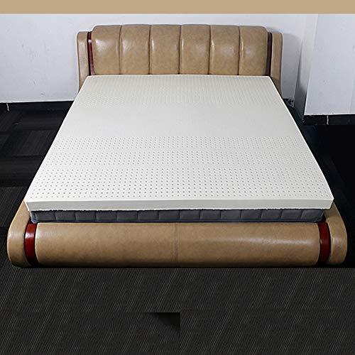 WJXBoos 100% Natürlichen Latex Matratzenauflage, Orthopädische Allergiker-geeignet Thailand Latex Matratze Verdicken Sie Premium Stock-matratze 7.5cm-a 150x200cm(59x79inch)