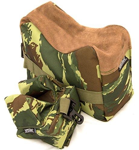 Nitehawk - Schießauflage für Gewehr & Luftgewehr – Auflagetaschen für Lauf und Schaft