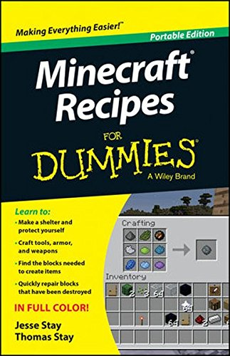 Minecraft Recipes For Dummies (For Dummies Series)