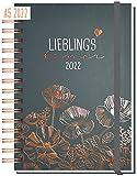 Kalender 2022 A5'Lieblingstimer' [Poppy] Terminplaner Ringbuch, Terminkalender, Spiralkalender, Wochenplaner, Planner   nachhaltig & klimaneutral