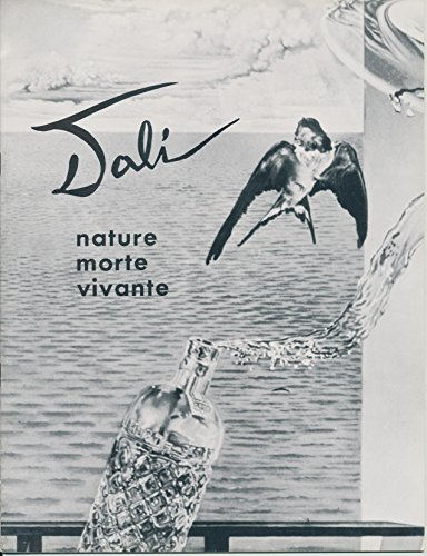 Nature Morte Vivante. Salvador Dali, 1956. Fine Arts Publication Number Four